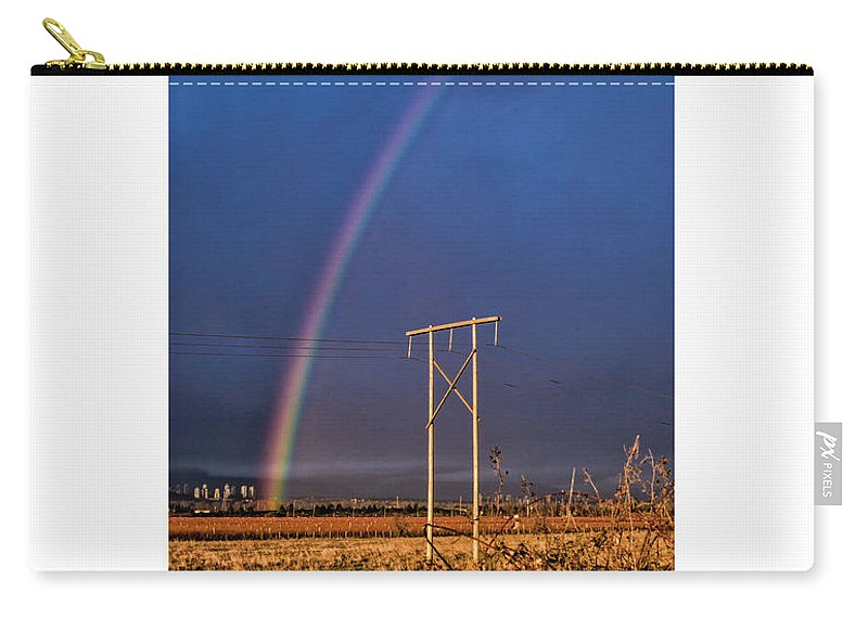 #things Not Seen Carry-all Pouch featuring the photograph Lost Time by Anka Wong