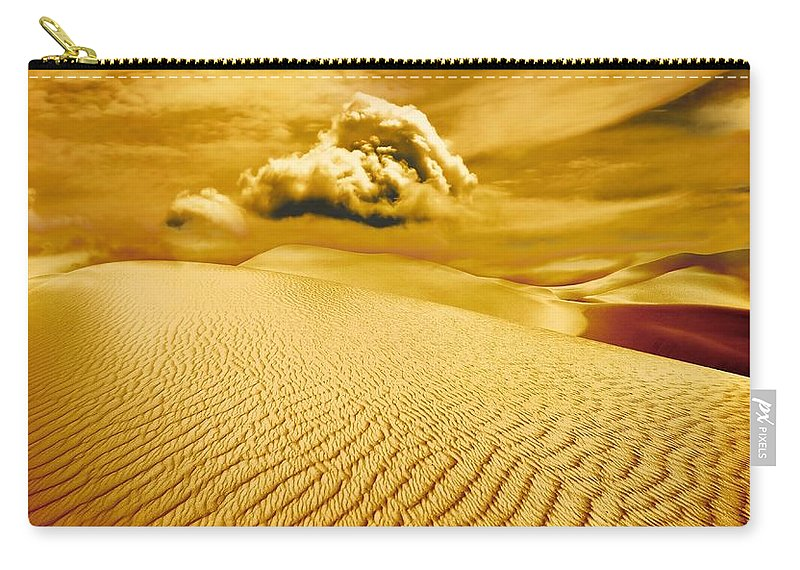 Desert Carry-all Pouch featuring the photograph Lost Worlds by Jacky Gerritsen