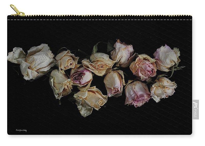 Dark Carry-all Pouch featuring the photograph Lots Of Lost Glory by Randi Grace Nilsberg