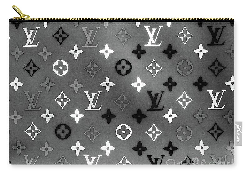 Louis Vuitton Carry-all Pouch featuring the digital art Louis Vuitton Monogram 3 by To-Tam Gerwe