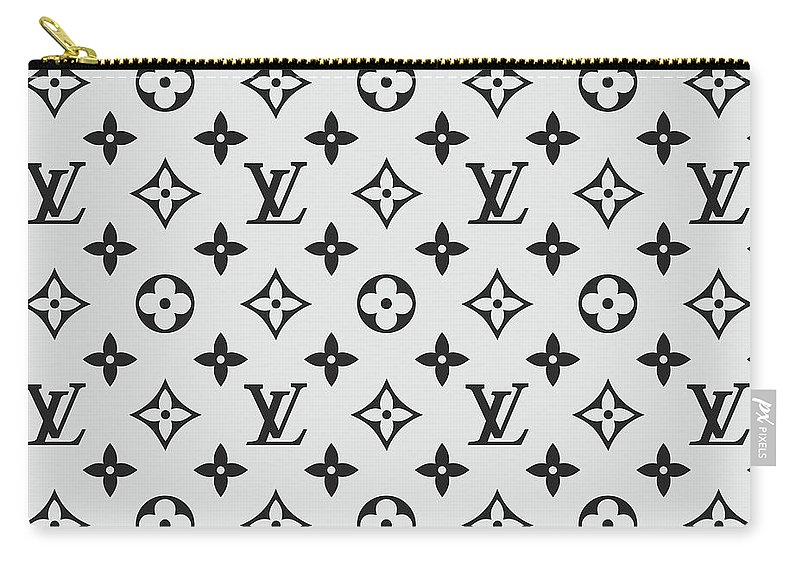 16dbed61306 Louis Vuitton Pattern Lv 07 Grey Carry-all Pouch