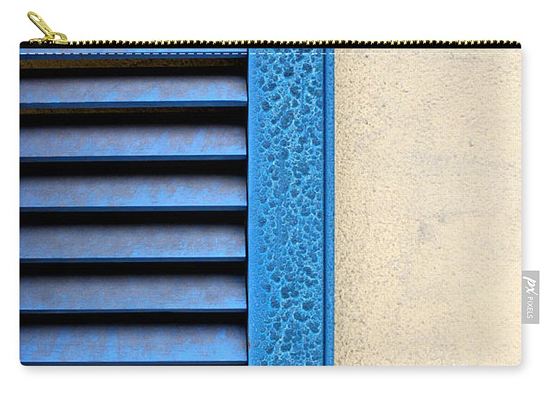 Abstract Carry-all Pouch featuring the photograph Louvered by Todd Blanchard