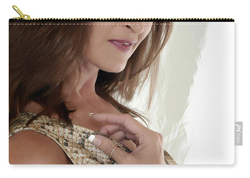 Clay Carry-all Pouch featuring the photograph Love At First Sight by Clayton Bruster