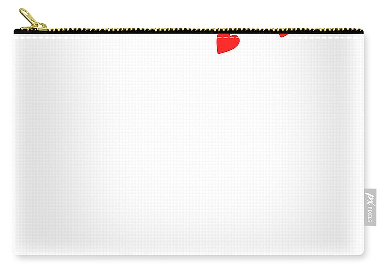 Love Bird Part 3 Carry-all Pouch featuring the digital art Love Bird Part 3 by Priscilla Wolfe