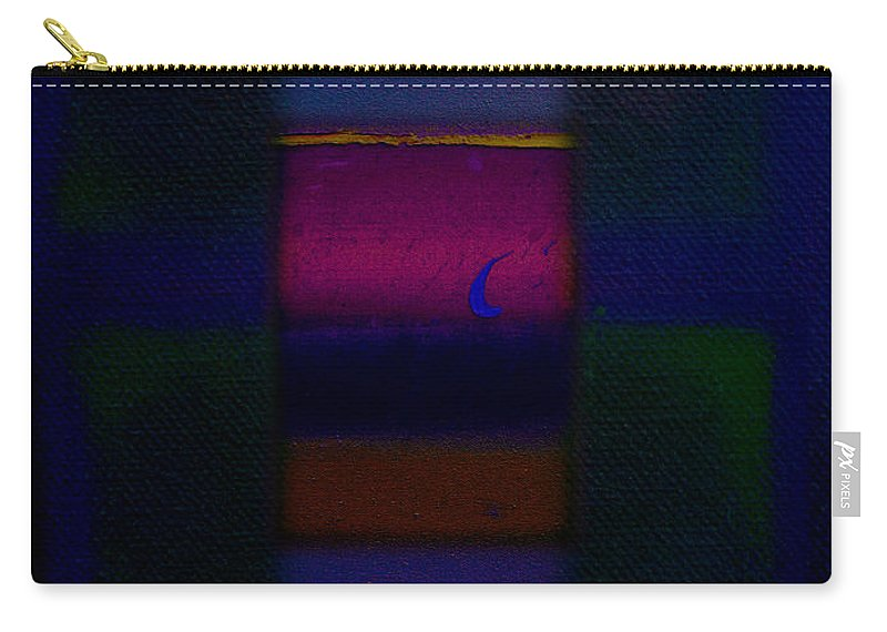 Rothko Carry-all Pouch featuring the painting Love Is Blue by Charles Stuart