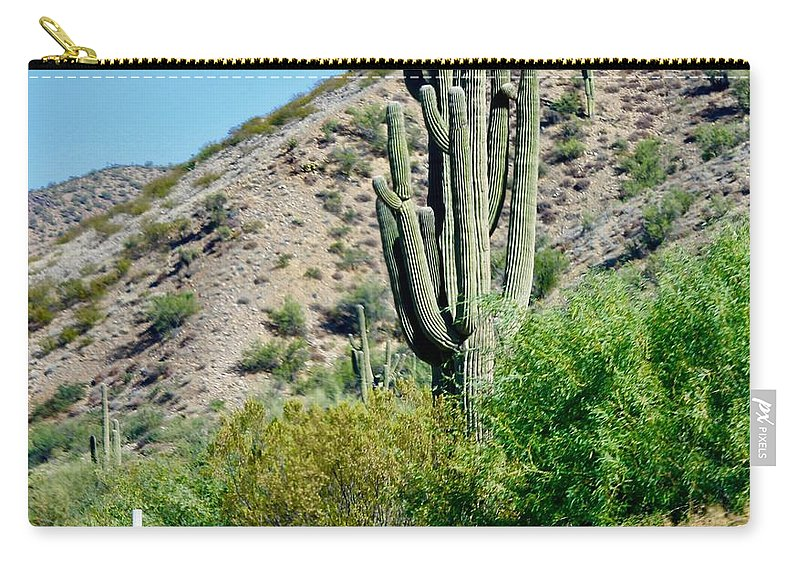 Landscape Carry-all Pouch featuring the photograph Love Phoenix by Lorna Maza