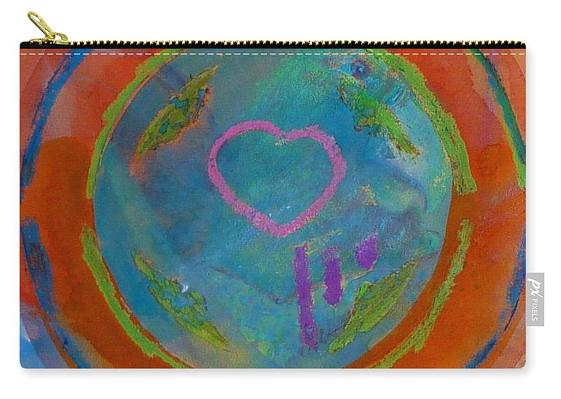 Logo Carry-all Pouch featuring the painting Love The Sea by Charles Stuart