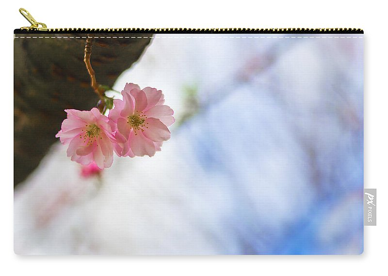 Flowers Carry-all Pouch featuring the photograph Love Twins by Alex Art and Photo