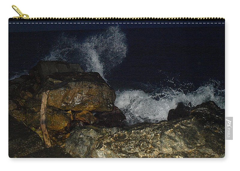 Photo Carry-all Pouch featuring the photograph Love Wave by Crina Iancau