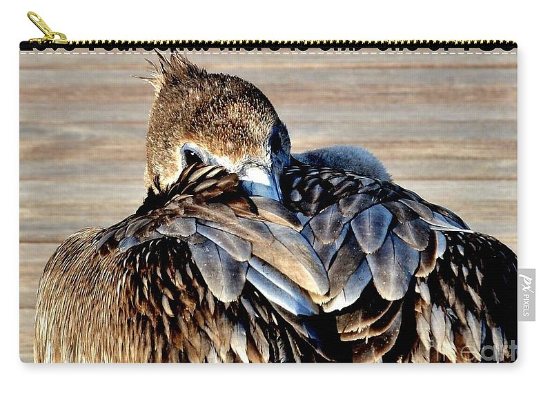 Love You Carry-all Pouch featuring the photograph Love You by Lisa Renee Ludlum