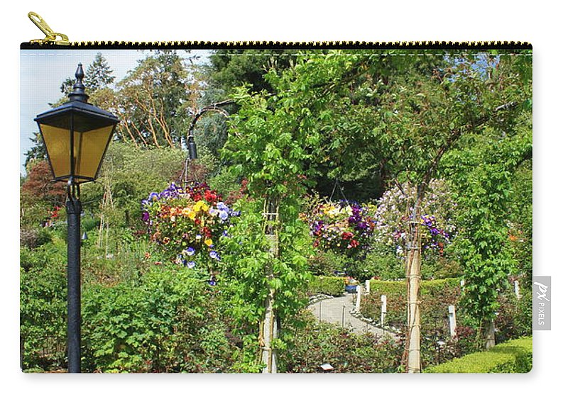 Garden Carry-all Pouch featuring the photograph Lovely Day In The Garden by Carol Groenen
