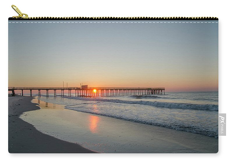 Lovely Carry-all Pouch featuring the photograph Lovely Morning In Avalon by Bill Cannon