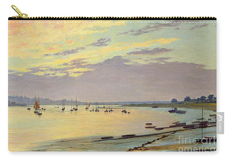 Low Carry-all Pouch featuring the painting Low Tide by W Savage Cooper