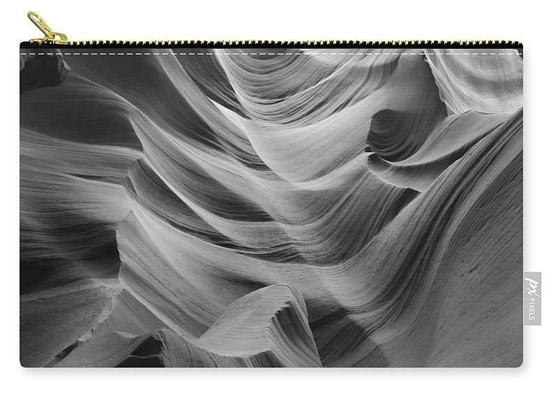 Slot Carry-all Pouch featuring the photograph Lower Antelope Canyon 2 7871 by Bob Neiman