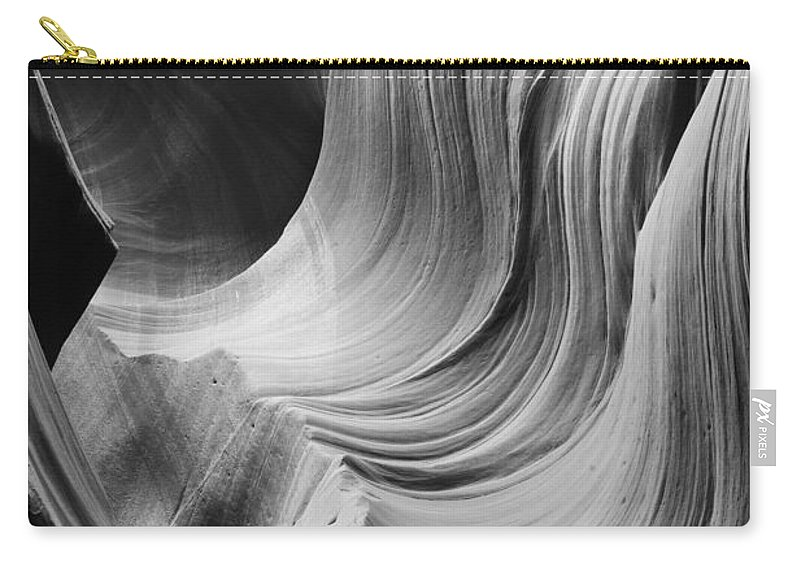 Slot Carry-all Pouch featuring the photograph Lower Antelope Canyon 2 7877 by Bob Neiman