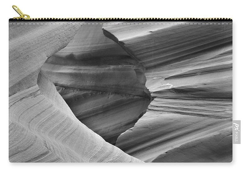 Slot Carry-all Pouch featuring the photograph Lower Antelope Canyon 2 7888 by Bob Neiman