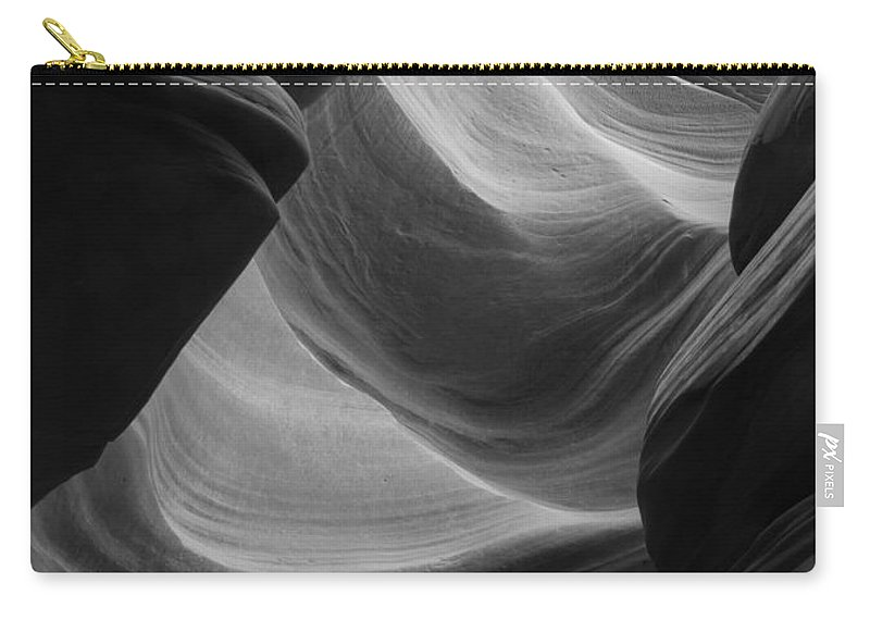 Slot Carry-all Pouch featuring the photograph Lower Antelope Canyon 2 7902 by Bob Neiman
