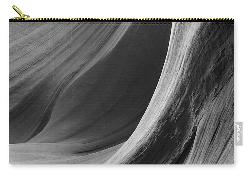 Slot Carry-all Pouch featuring the photograph Lower Antelope Canyon 2 7920 by Bob Neiman