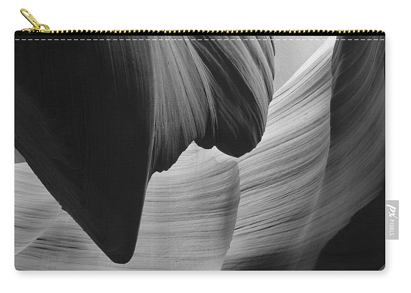 Slot Carry-all Pouch featuring the photograph Lower Antelope Canyon 2 7923 by Bob Neiman