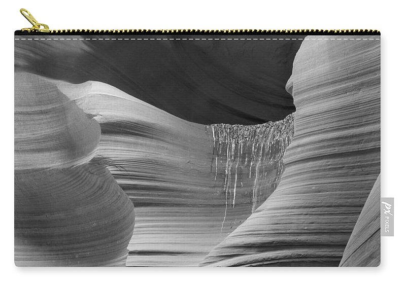 Slot Carry-all Pouch featuring the photograph Lower Antelope Canyon 2 7934 by Bob Neiman