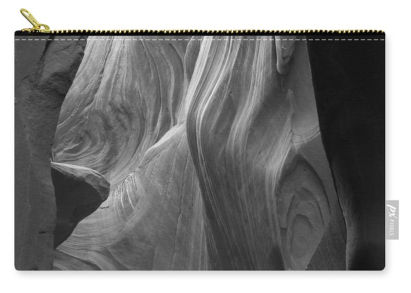 Slot Carry-all Pouch featuring the photograph Lower Antelope Canyon 2 7946 by Bob Neiman