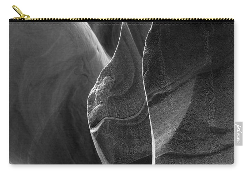 Slot Carry-all Pouch featuring the photograph Lower Antelope Canyon 2 7968 by Bob Neiman