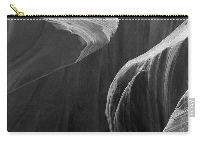 Slot Carry-all Pouch featuring the photograph Lower Antelope Canyon 2 7972 by Bob Neiman