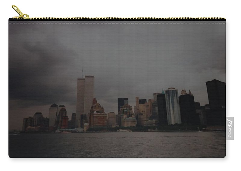 Wtc Carry-all Pouch featuring the photograph Lower Manhattan by Rob Hans