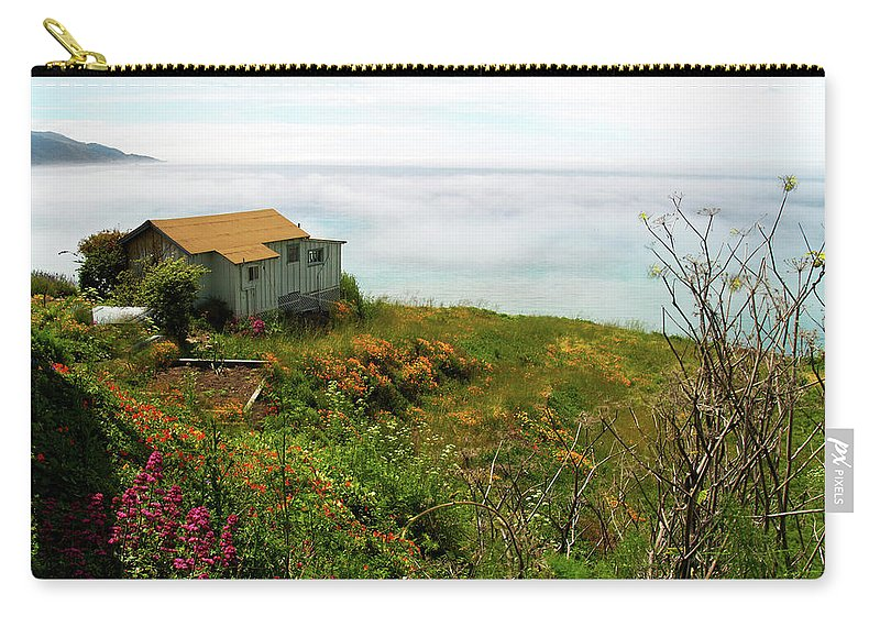 Big Sur Carry-all Pouch featuring the photograph Lucia Morning - Big Sur Coast by Joe Schofield