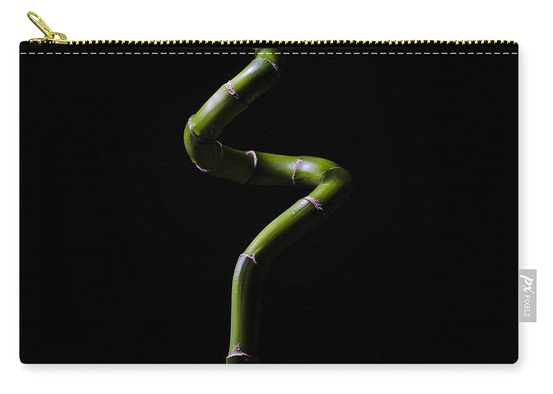 Garden Carry-all Pouch featuring the photograph Lucky Bamboo by Pelo Blanco Photo