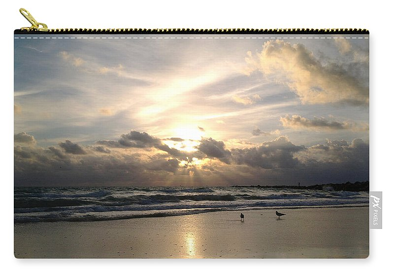 Angel Carry-all Pouch featuring the photograph Luminance by Raymel Garcia