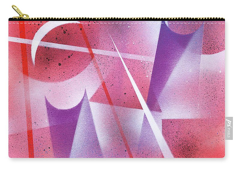 Spray Carry-all Pouch featuring the painting Lunar Eclipse by Hakon Soreide