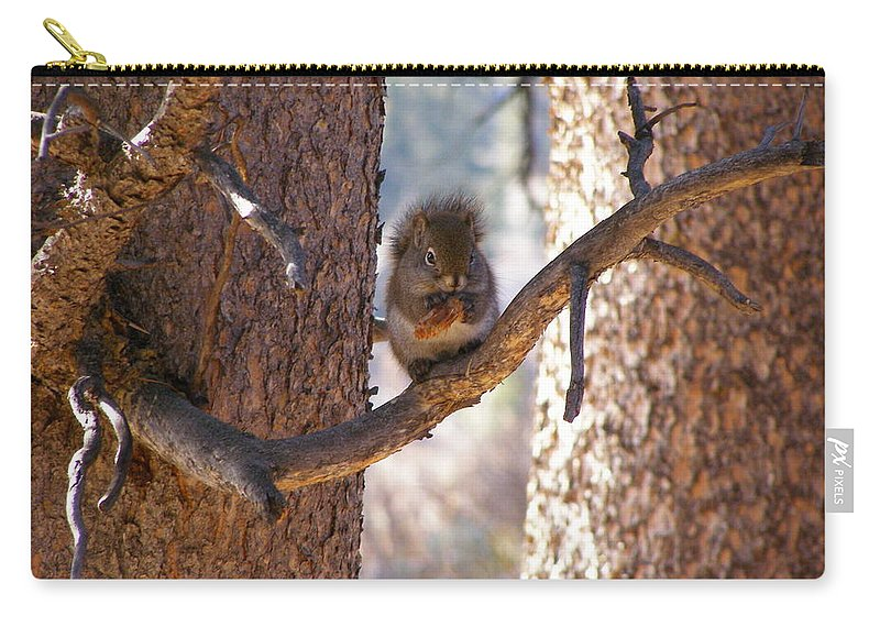 Animals Carry-all Pouch featuring the photograph Lunch Time by DeeLon Merritt
