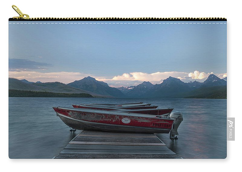 Water Carry-all Pouch featuring the photograph Lund by Dan Golden