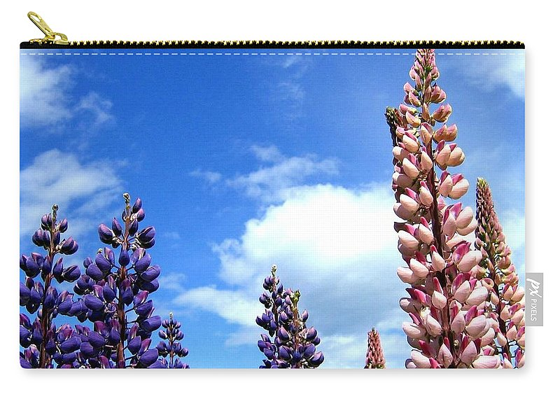 Lupins Carry-all Pouch featuring the photograph Lupins by Will Borden