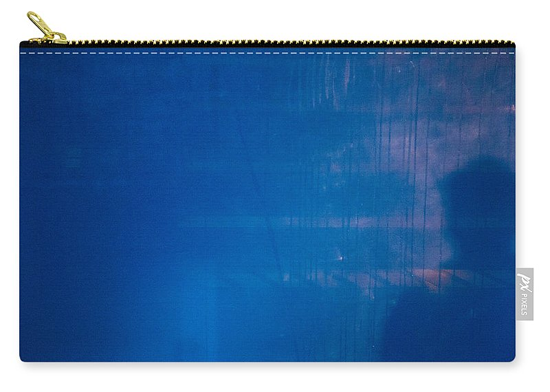 Lurking Shadow Carry-all Pouch featuring the photograph Lurking Shadow by Karol Livote