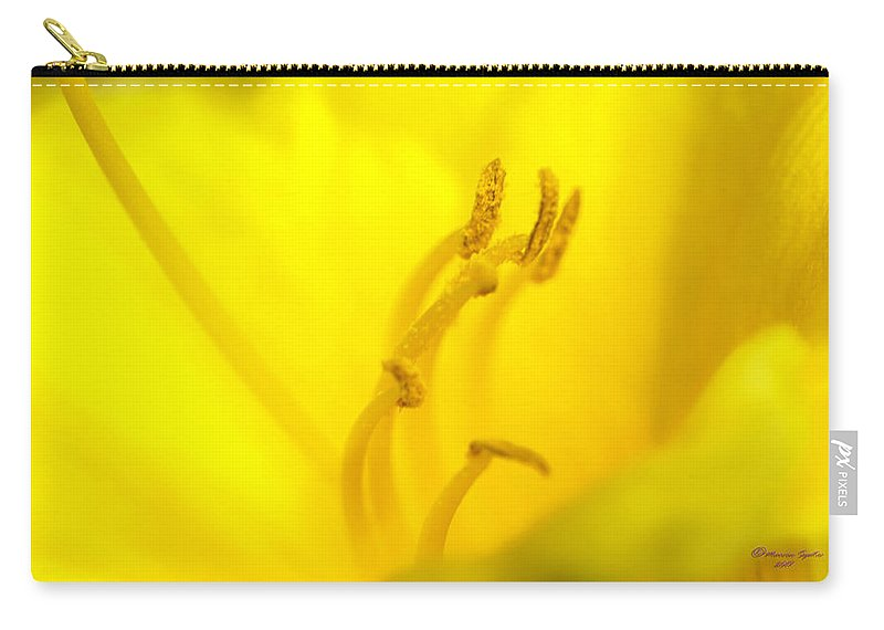 Tyellow Carry-all Pouch featuring the photograph Luscious Yellow by Marvin Spates