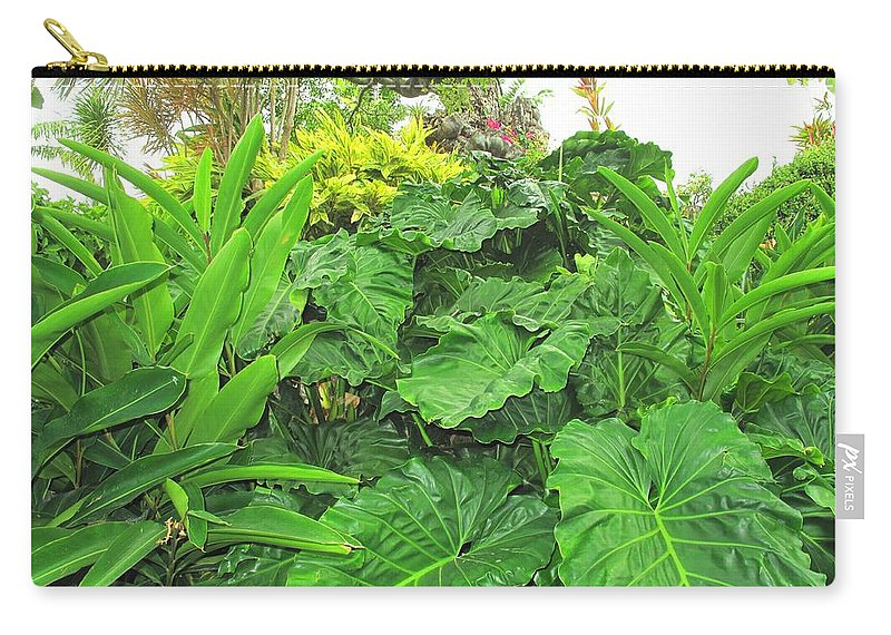 Vegetation Carry-all Pouch featuring the photograph Lust Too by Ian MacDonald