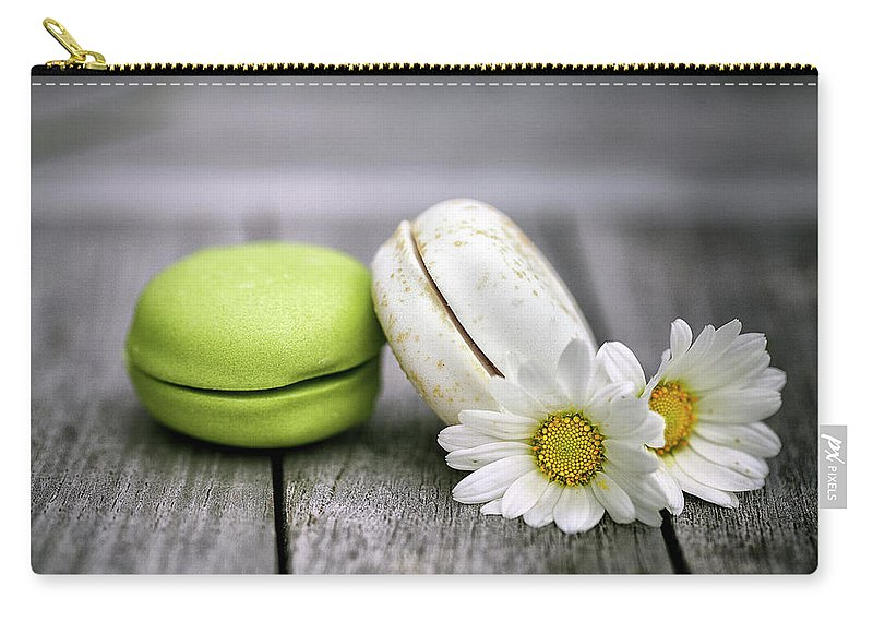 Macaron Carry-all Pouch featuring the photograph Macarons by Nailia Schwarz