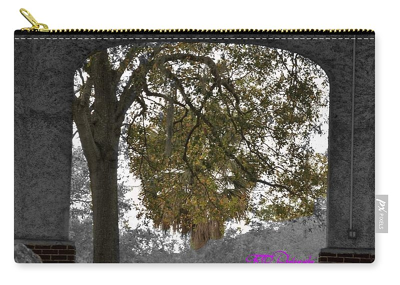 Park Carry-all Pouch featuring the photograph Macfarlan by Rene GrayMitchell