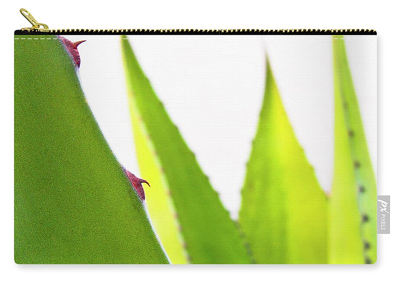 Mack The Knife Carry-all Pouch featuring the photograph Mack the Knife 1 by Skip Hunt