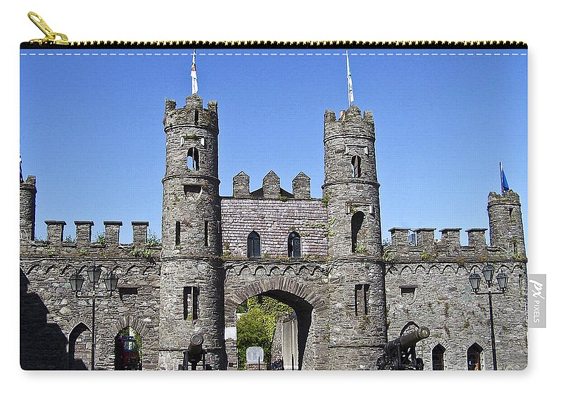 Irish Carry-all Pouch featuring the photograph Macroom Castle Ireland by Teresa Mucha