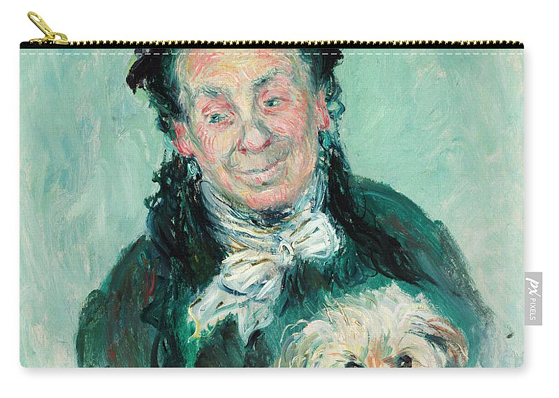 Madame Paul Carry-all Pouch featuring the painting Madame Paul by Claude Monet
