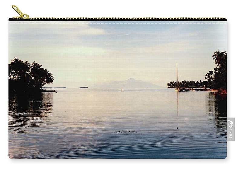 Vicki Ferrari Photography Carry-all Pouch featuring the photograph Madang Papua New Guinea by Vicki Ferrari