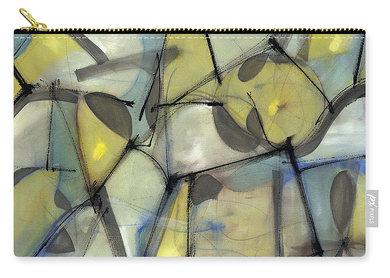 Abstract Carry-all Pouch featuring the painting Madcap Light by Lynne Taetzsch