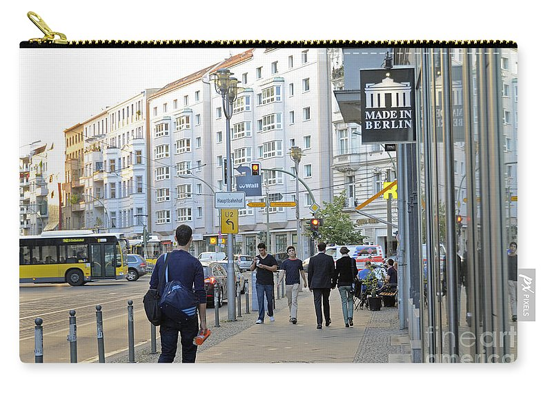 Berlin Carry-all Pouch featuring the photograph Made In Berlin by Elaine Berger