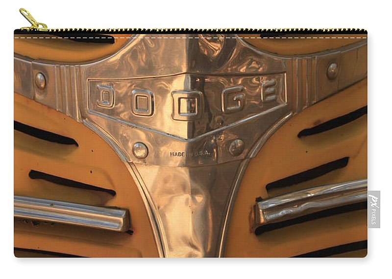 Dodge Carry-all Pouch featuring the photograph Made In Usa by Carol Groenen
