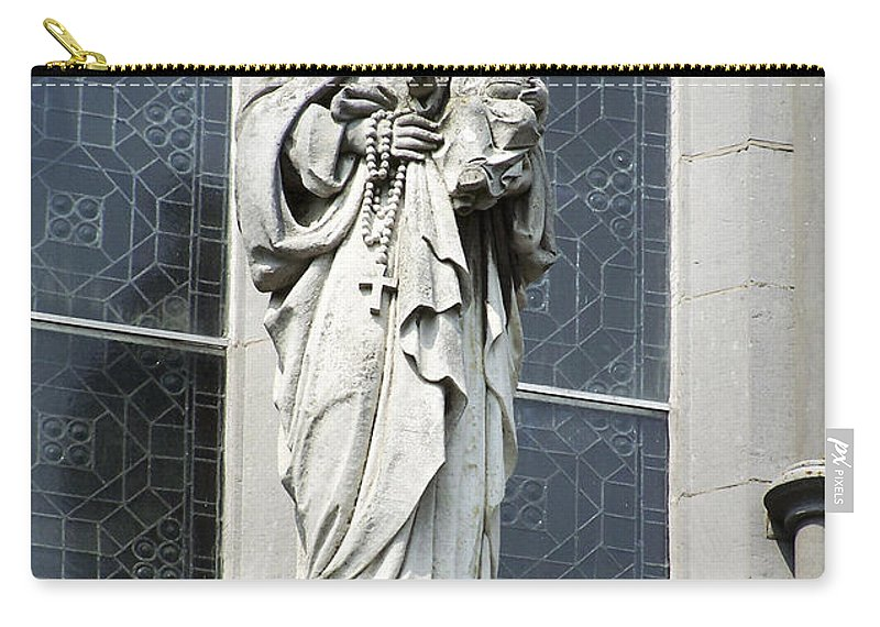 Ireland Carry-all Pouch featuring the photograph Madonna And Child by Teresa Mucha