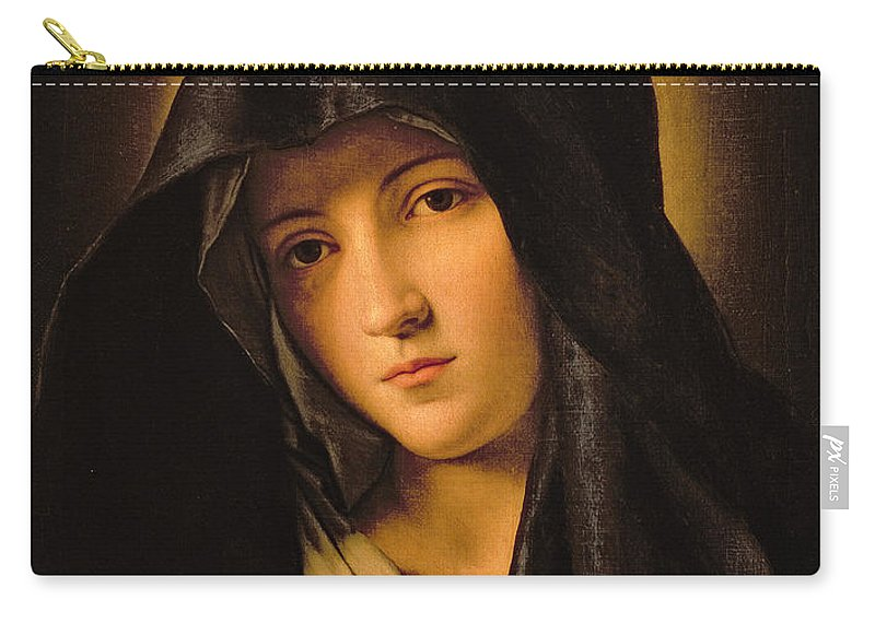 Mary Carry-all Pouch featuring the painting Madonna by Il Sassoferrato