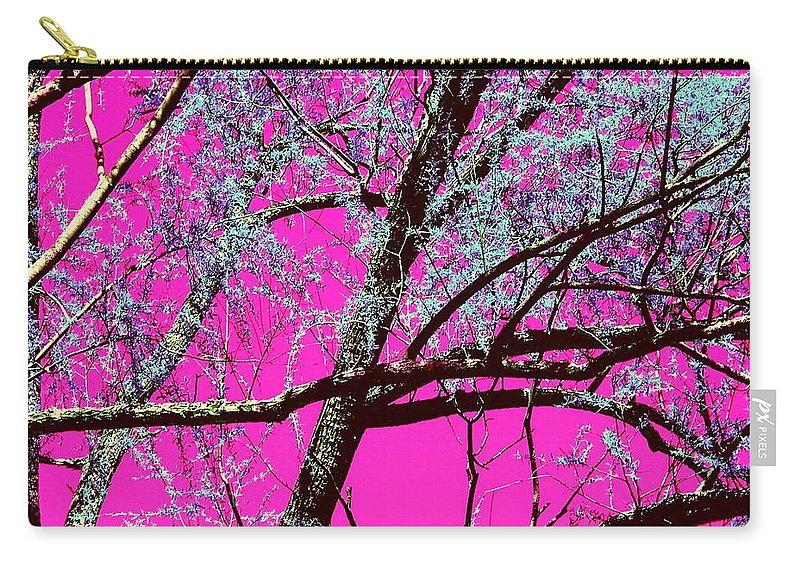 Magenta Carry-all Pouch featuring the photograph Magenta Sky by Tommy Carhart